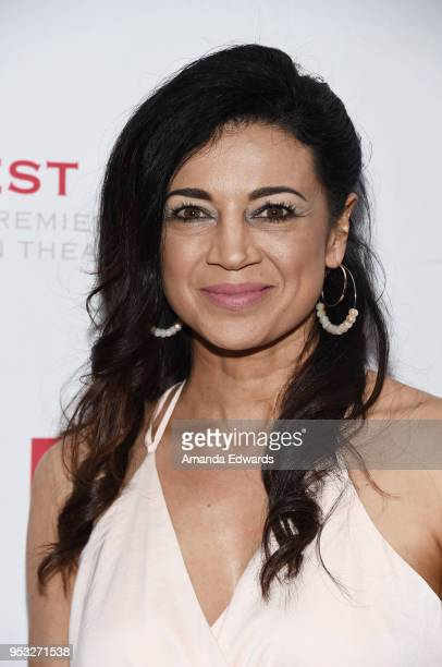 Actress Anna Khaja arrives at the East West Players 'The Company We Keep' 52nd Anniversary Visionary Awards Fundraiser Dinner and Silent Auction at...