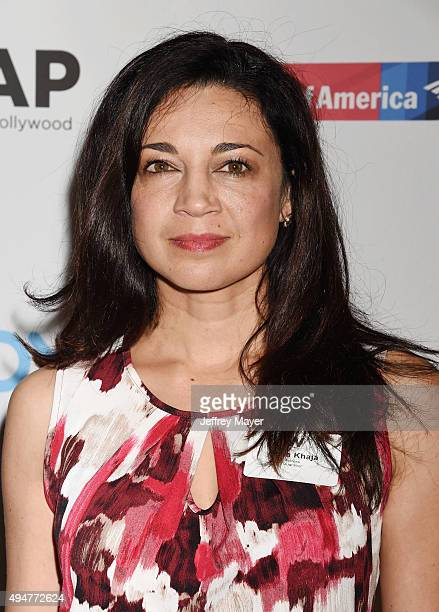 Actress Anna Khaja arrives at the TheWrap's Power Women Breakfast at Ocean Prime restaurant on October 28 2015 in Beverly Hills California
