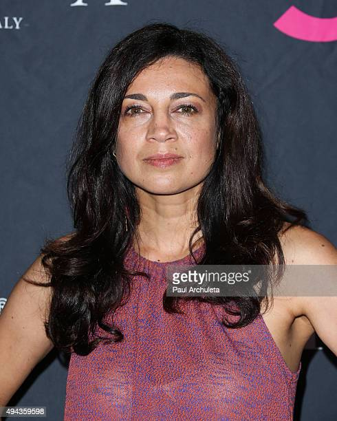 Actress Anna Khaja attends Star Magazine's Scene Stealers party at The W Hollywood on October 22 2015 in Hollywood California