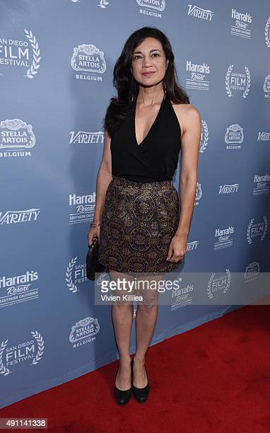 Actress Anna Khaja attends the 2015 San Diego Film Festival on October 2 2015 in San Diego California