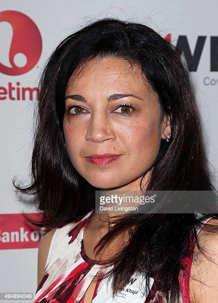 Actress Anna Khaja attends TheWrap's Power Women Breakfast at Ocean Prime on October 28 2015 in Beverly Hills California