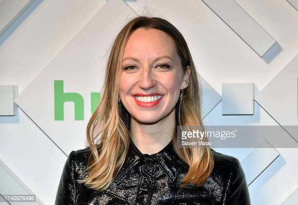 Actress Anna Konkle attends 2019 Hulu Upfront at Scarpetta on May 1 2019 in New York City