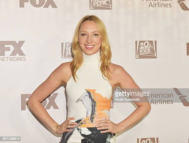 Actress Anna Konkle attends FOX and FX's 2017 Golden Globe Awards after party at The Beverly Hilton Hotel on January 8 2017 in Beverly Hills...