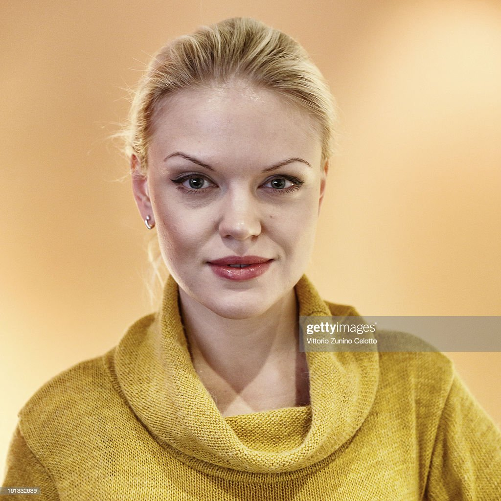 Actress Anna Kotova attends 'A Long and Happy Life' Portrait Session during the 63rd Berlinale International Film Festival at the Berlinale Palast on February 10, 2013 in Berlin, Germany.