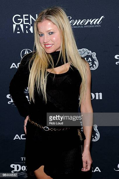Actress Anna Kulinova attends the Gen Art Film Festival screening of 'Mercy' at the School of Visual Arts Theater on April 13 2010 in New York City