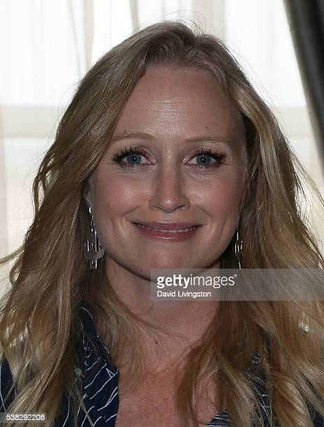 Actress Anna Lise Phillips attends the 2016 Los Angeles Film Festival 'Sensitivity Training' photo call at the Culver Hotel on June 5 2016 in Culver...