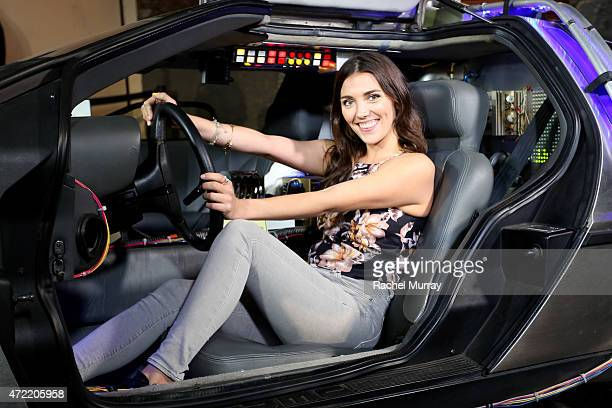 Actress Anna Louise Sargeant attends an exclusive launch party introducing Zodiac Vodka to the California market hosted by Zodiac Vodka and Scooter...
