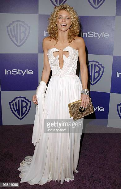 Actress Anna Lynne McCord arrives at the Warner Brothers/InStyle Golden Globes After Party at The Beverly Hilton Hotel on January 17 2010 in Beverly...