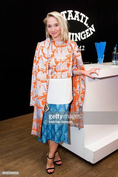 Actress Anna Maria Muehe attends the BIDI BADU by Kilian Kerner presentation at Ellington Hotel on March 28 2017 in Berlin Germany