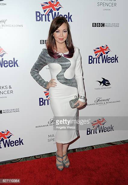 Actress Anna Maria Perez de Tagle attends BritWeek's 10th Anniversary VIP Reception Gala at Fairmont Hotel on May 1 2016 in Los Angeles California