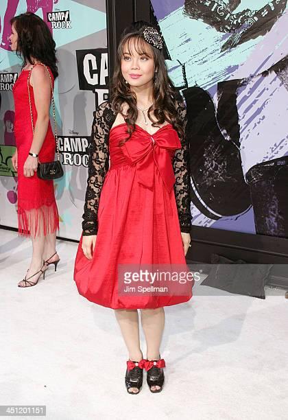 Actress Anna Maria Perez de Tagle attends the Camp Rock premiere on June 11 2008 at the Ziegfeld Theatre in New York