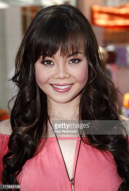 Actress Anna Maria Perez de Tagle attends the Lollipop Theater Network's Inaugural Game Day at Nickelodeon Animation Studios on May 3 2009 in Burbank...