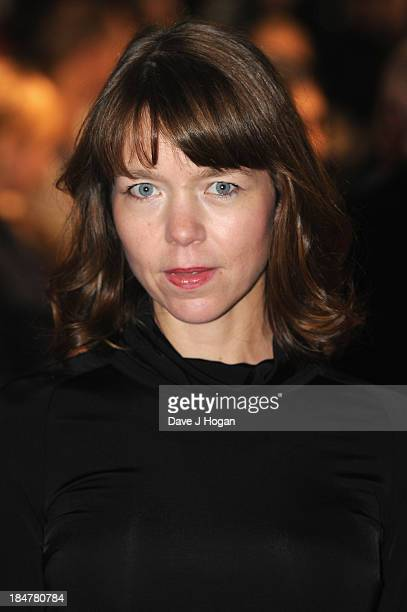 Actress Anna Maxwell Martin attends a screening of 'Philomena' during the 57th BFI London Film Festival at Odeon Leicester Square on October 16 2013...