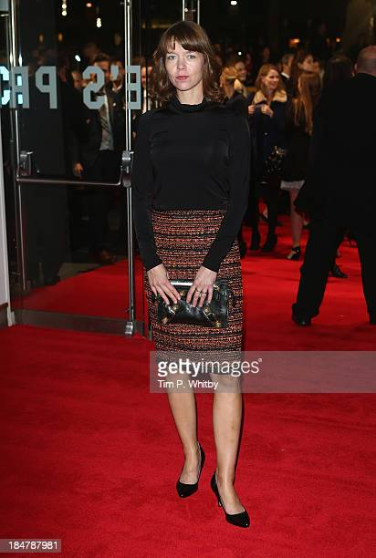 Actress Anna Maxwell Martin attends the 'Philomena' American Express Gala screening during the 57th BFI London Film Festival at Odeon Leicester...