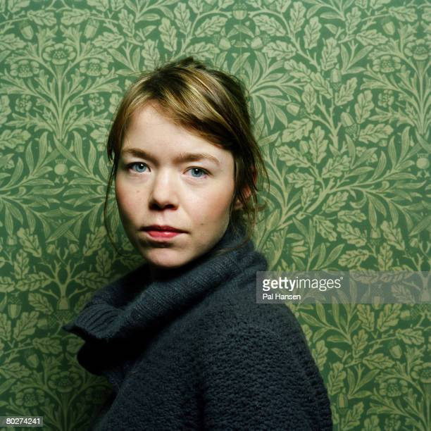 Actress Anna Maxwell Martin poses for a portrait shoot for the Sunday Telegraph in London on March 19 2006