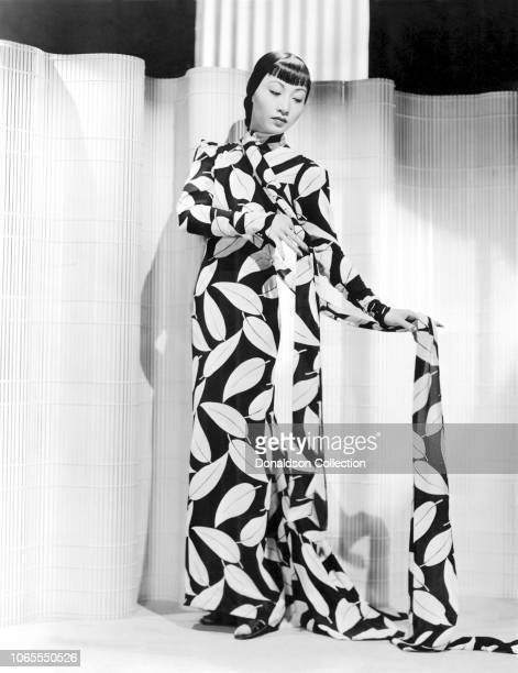 Actress Anna May Wong in a scene from the movie 'Dangerous to Know'