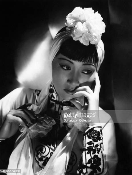 Actress Anna May Wong in a scene from the movie Dangerous to Know