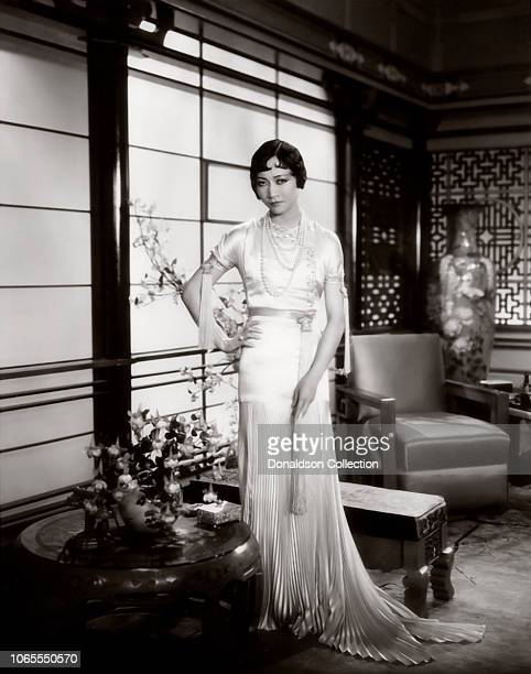 Actress Anna May Wong in a scene from the movie 'Daughter of the Dragon'