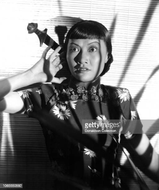 Actress Anna May Wong in a scene from the movie Island of Lost Men