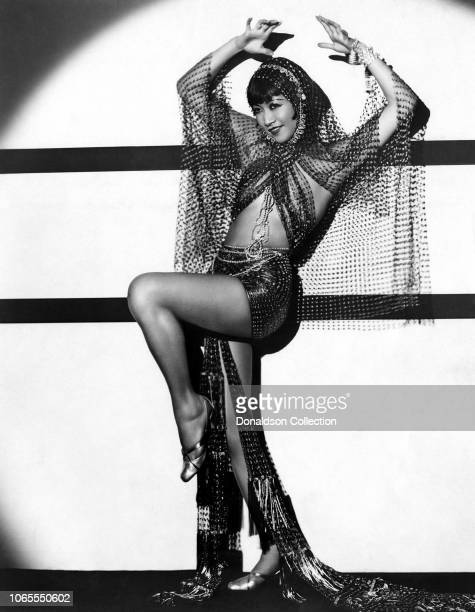 Actress Anna May Wong in a scene from the movie Shanghai Express