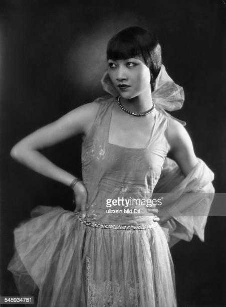 Actress Anna May Wong Picture by Kiesel 1928
