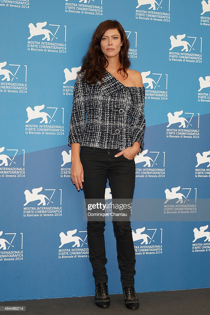 Actress Anna Mouglalis attends 'Il Giovane Favoloso' Photocall during the 71st Venice Film Festival at Palazzo Del Casino on September 1, 2014 in Venice, Italy.