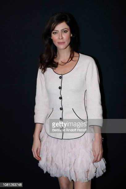 Actress Anna Mouglalis attends the Annual Charity Dinner hosted by the AEM Association Children of the World for Rwanda at Pavillon Ledoyen on...