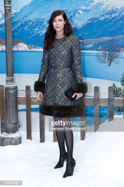 Actress Anna Mouglalis attends the Chanel show as part of the Paris Fashion Week Womenswear Fall/Winter 2019/2020 on March 05 2019 in Paris France