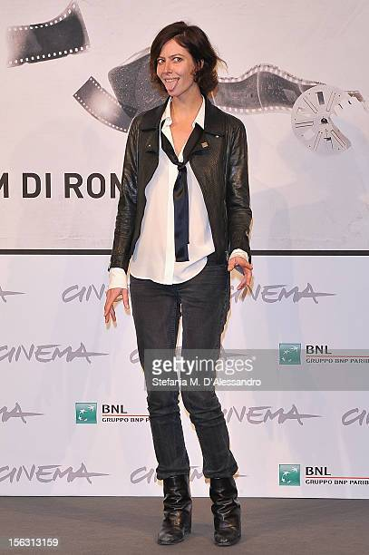 Actress Anna Mouglalis attends the 'Photo' Photocall during the 7th Rome Film Festival at Auditorium Parco Della Musica on November 13 2012 in Rome...