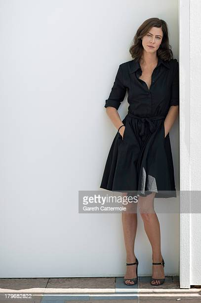 Actress Anna Mouglalis during a portrait session at the 70th Venice International Film Festival on September 6 2013 in Venice Italy