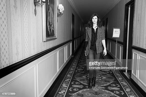 108881012 Actress Anna Mouglalis is photographed for Madame Figaro on January 20 2014 in Paris France PUBLISHED IMAGE CREDIT MUST READ Emanuele...