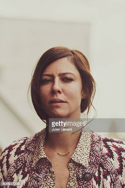 Actress Anna Mouglalis is photographed for Self Assignment on January 14 2016 in Paris France