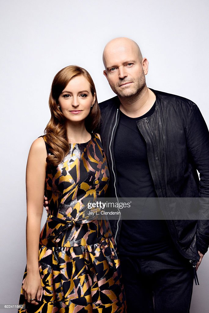 Actress Anna O'Riley and filmmaker Marc Forster, from the film All I See is You, pose for a portraits at the Toronto International Film Festival for Los Angeles Times on September 12, 2016 in Toronto, Ontario.