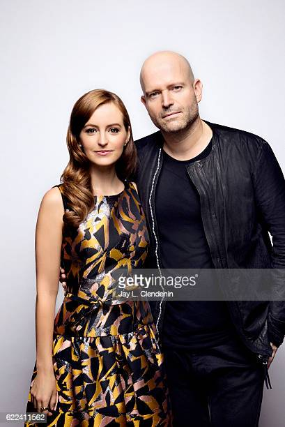 Actress Anna O'Riley and filmmaker Marc Forster from the film All I See is You pose for a portraits at the Toronto International Film Festival for...