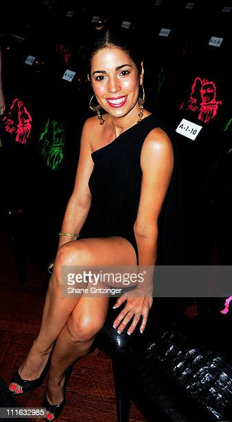 Actress Anna Ortiz attends Patricia Field David Dalrymple 2009 at Edison Ballroom on September 6 2008 in New York City