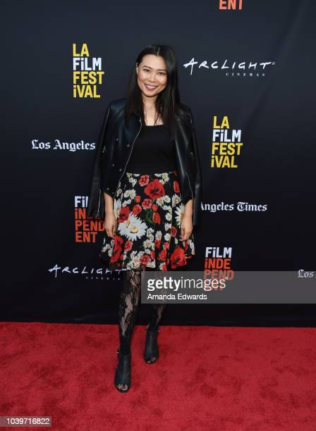 Actress Anna Pan attends the 2018 LA Film Festival Project Involve Shorts screening event at the ArcLight Hollywood on September 24 2018 in Hollywood...