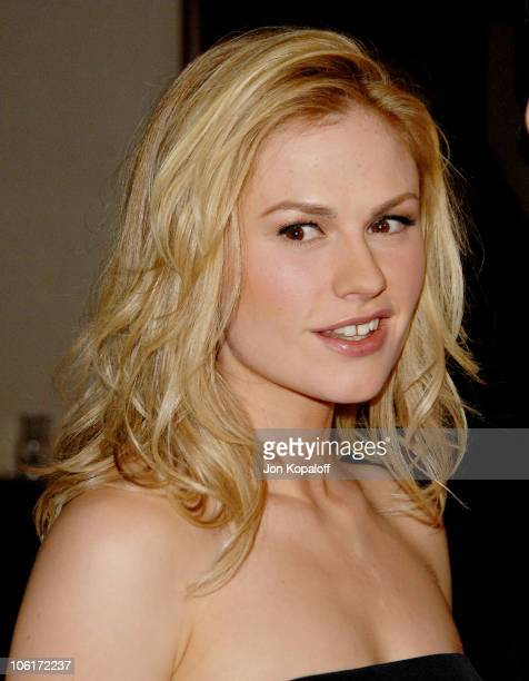 Actress Anna Paquin arrives at the 60th Annual Directors Guild of America Awards at the Hyatt Regency Century Plaza Hotel on January 26 2008 in...