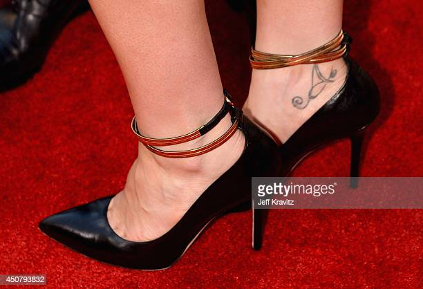 Actress Anna Paquin attends HBO 'True Blood' season 7 premiere at TCL Chinese Theatre on June 17 2014 in Hollywood California