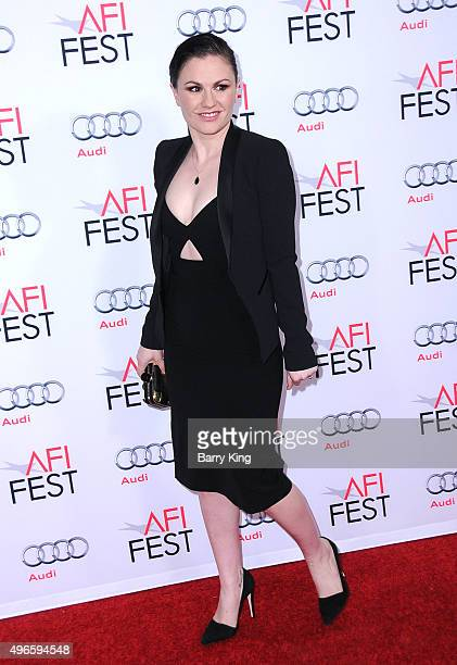 Actress Anna Paquin attends the AFI FEST 2015 Presented By Audi Centerpiece Gala Premiere Of Columbia Pictures' 'Concussion' at the TCL Chinese...
