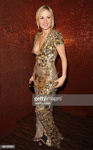 Actress Anna Paquin attends the official HBO after party for the 67th annual Golden Globe Awards at Circa 55 Restaurant at the Beverly Hilton Hotel...