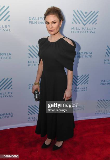 Actress Anna Paquin attends the Premiere of 'The Parting Glass' at the 41st Mill Valley Film Festival at Sequoia Theater on October 6 2018 in Mill...