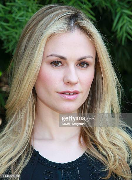 Actress Anna Paquin attends the Rise Up Christchurch telethon appeal event at the residence of the New Zealand ConsulateGeneral on May 21 2011 in Los...