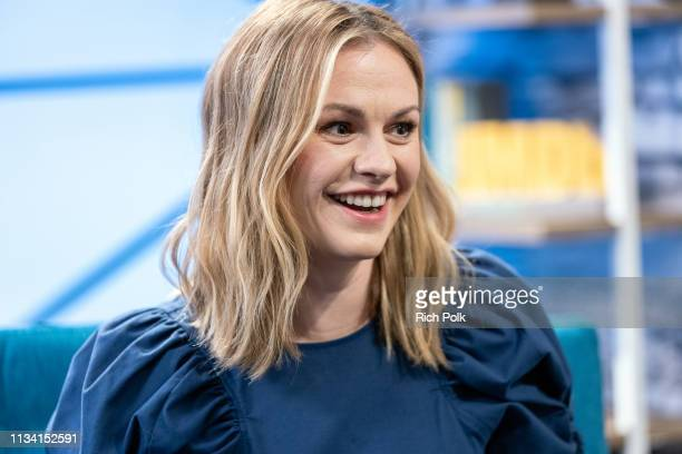 Actress Anna Paquin visits 'The IMDb Show' on February 26 2019 in Studio City California This episode of 'The IMDb Show' airs on March 7 2019