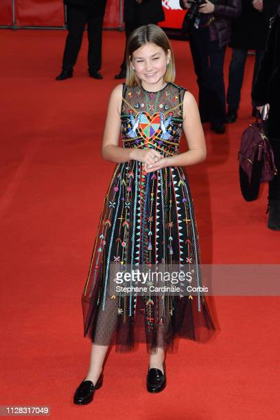 Actress Anna Pniowsky attends the Light Of My Life premiere during the 69th Berlinale International Film Festival Berlin at Zoo Palast on February 08...