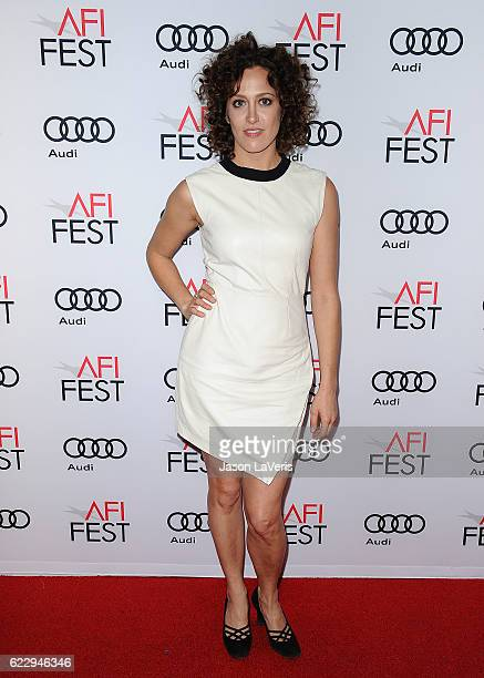 Actress Anna Rose Hopkins attends Cinema's Legacy conversation for Flirting with Disaster at the 2016 AFI Fest at TCL Chinese 6 Theatres on November...