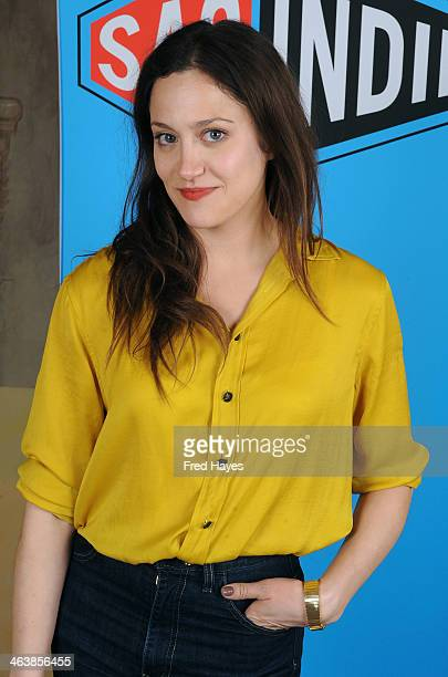 Actress Anna Rose Hopkins attends the Actors SAG Indie Brunch at Cafe Terigo on January 19 2014 in Park City Utah