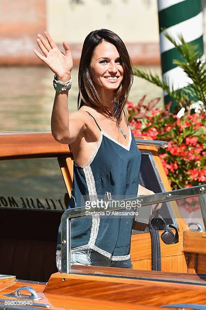 Actress Anna Safronciik arrives at the Excelsior Hotel during 73th Venice Film Festival on August 31 2016 in Venice Italy