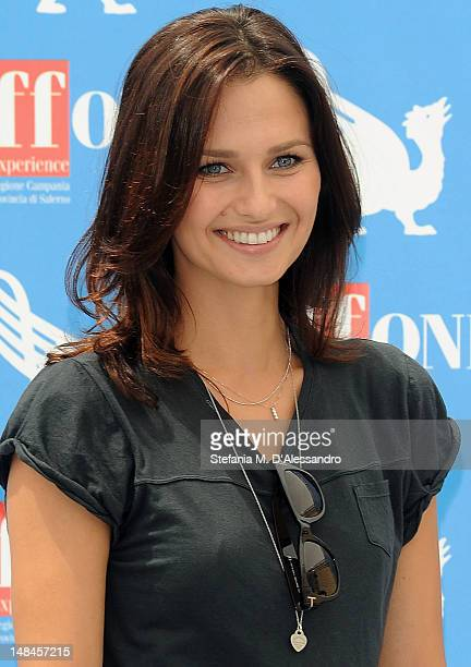 Actress Anna Safroncik attends 2012 Giffoni Film Festival Photocall on July 17 2012 in Giffoni Valle Piana Italy