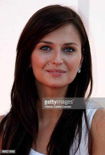 Actress Anna Safroncik attends a photocall during the Giffoni Experience on July 14 2009 in Salerno Italy