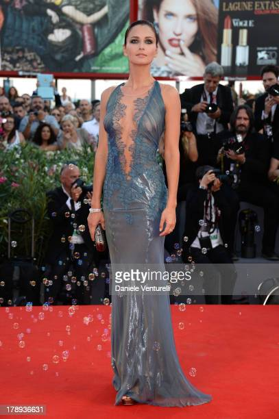 Actress Anna Safroncik attends 'Philomena' Premiere during the 70th Venice International Film Festival at Sala Grande on August 31 2013 in Venice...